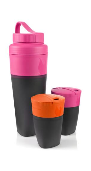 Light My Fire Pack-up Drinkfles oranje/roze